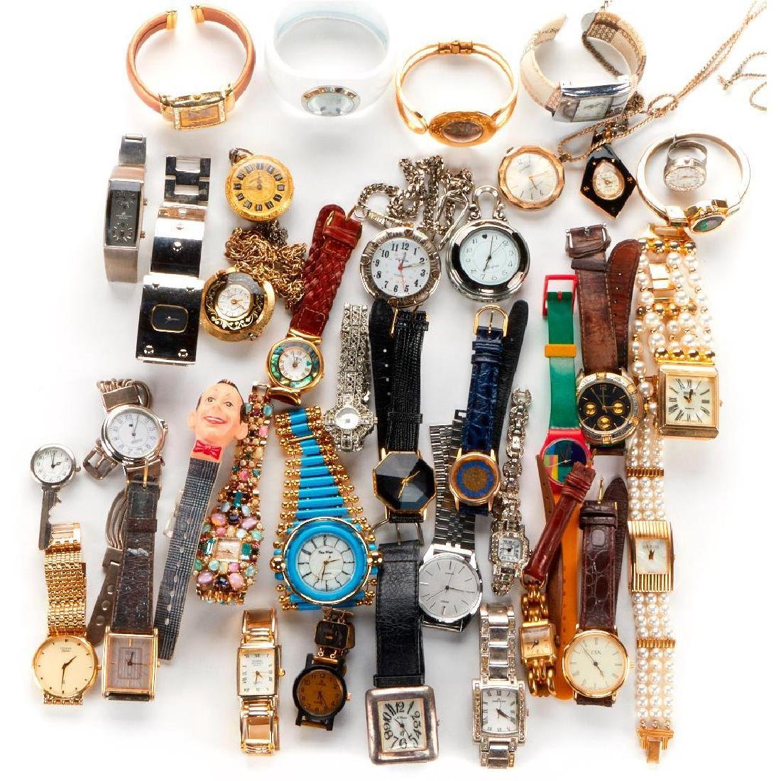 Collection of 120+ wristwatches
