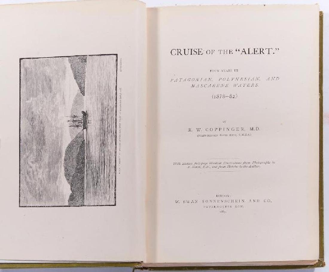 Five works circa 1800s on expeditions and voyages