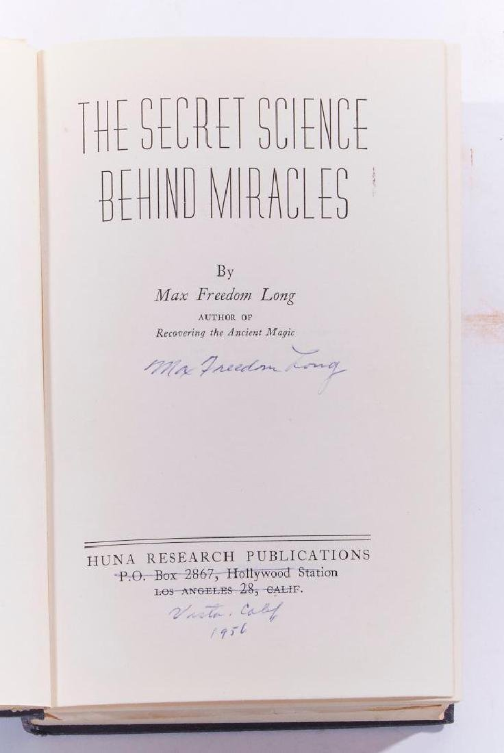Four works: Secret Science Behind Miracles