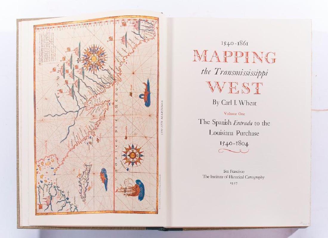 Carl I. Wheat, 1540-1861 Mapping TransMississippi West