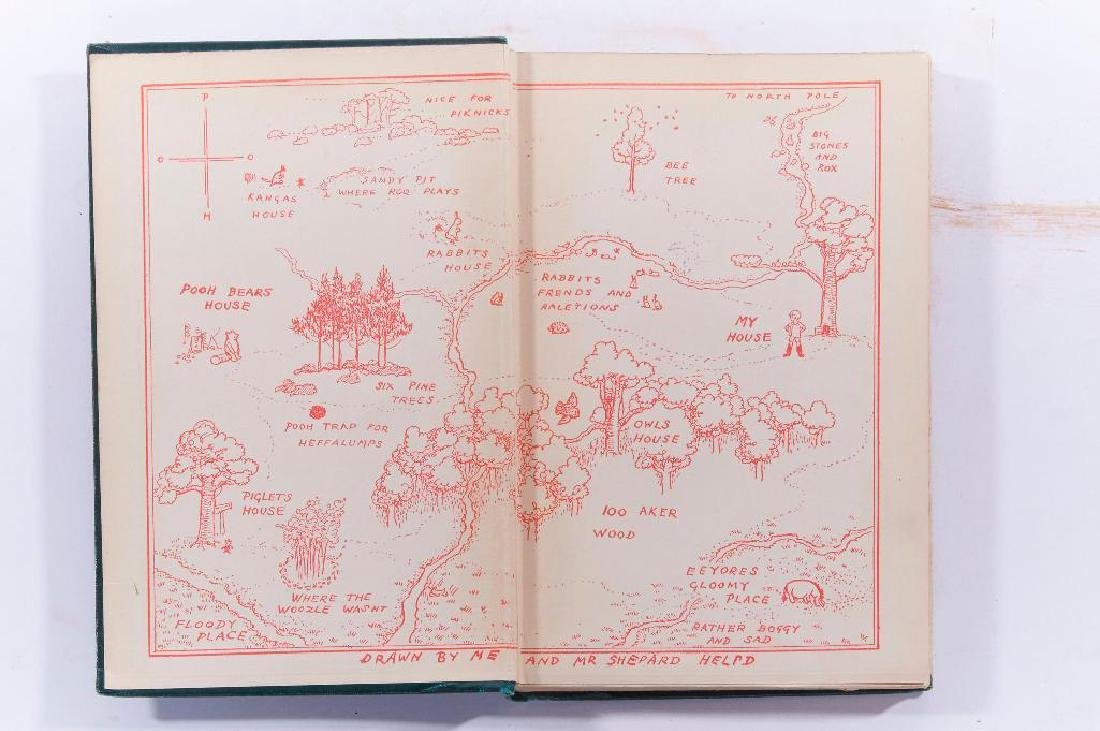 First edition: A.A. Milne, Winnie the Pooh