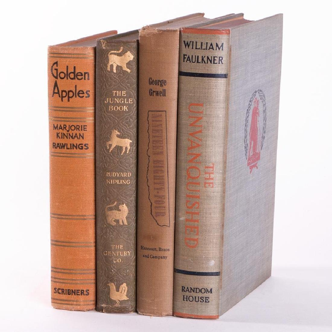 Four works of modern first editions