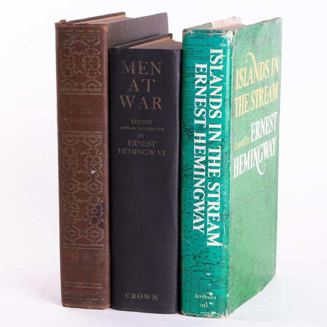 Three first edition works by Ernest Hemingway