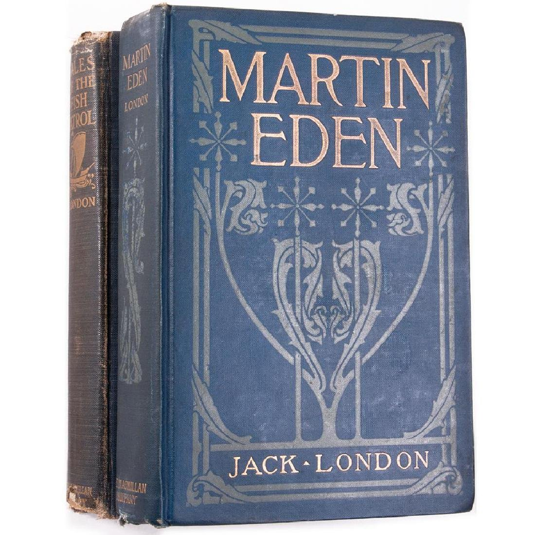 Two works by Jack London. First edition