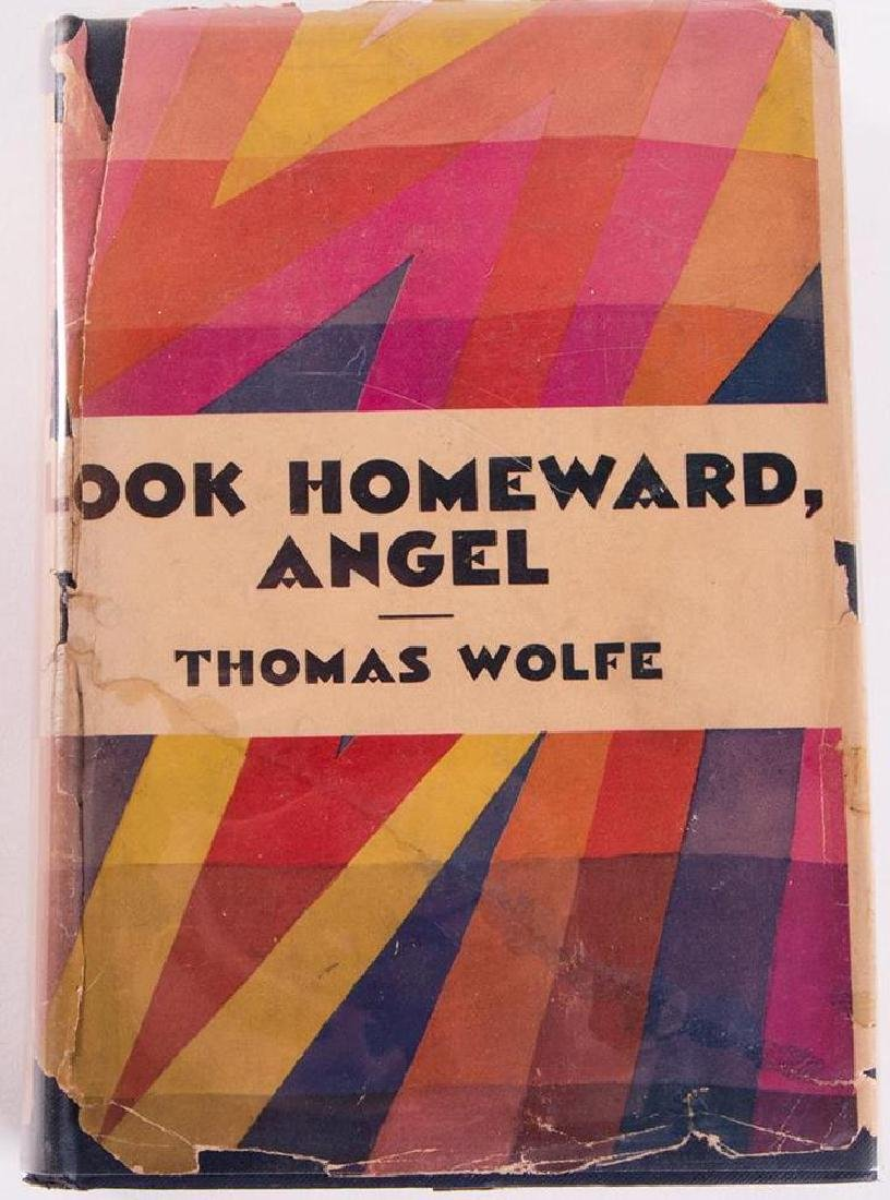 Thomas Wolfe, Look Homeward, Angel. With Photograph