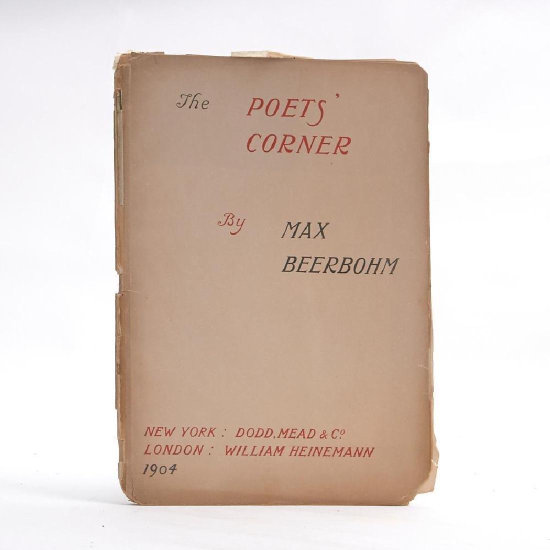 Max Beerbohm, The Poets Corner