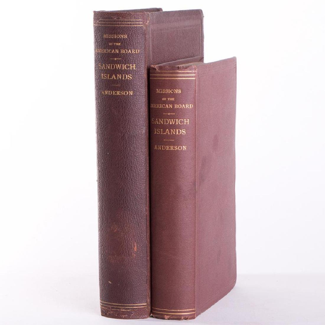2 Editions, History of the Sandwich Islands