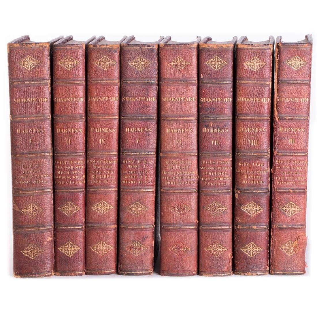 Shakespeare's Dramatic Works. Eight volume set