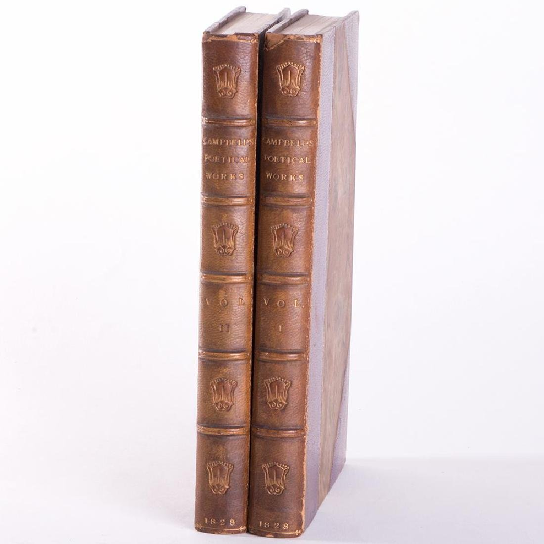 Two volumes by Thomas Campbell