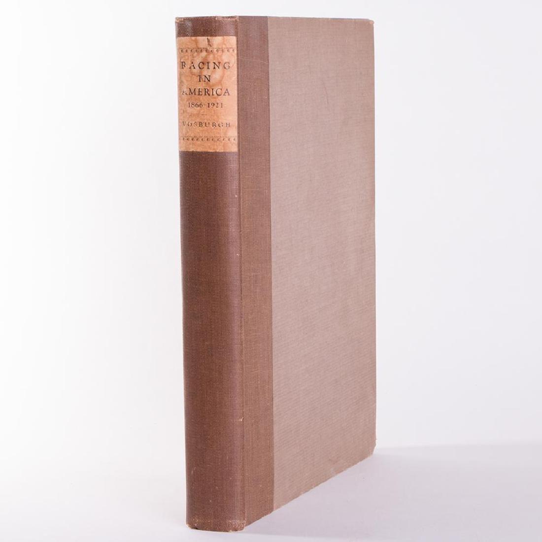 W.S. Vosburgh, Racing in America, 1866-1921