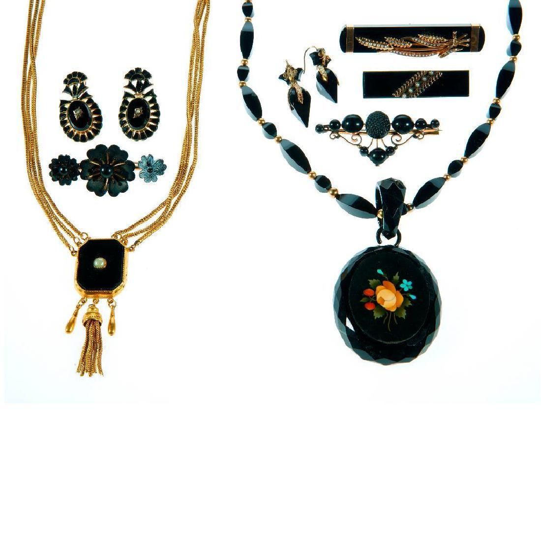 Collection of Victorian jewelry