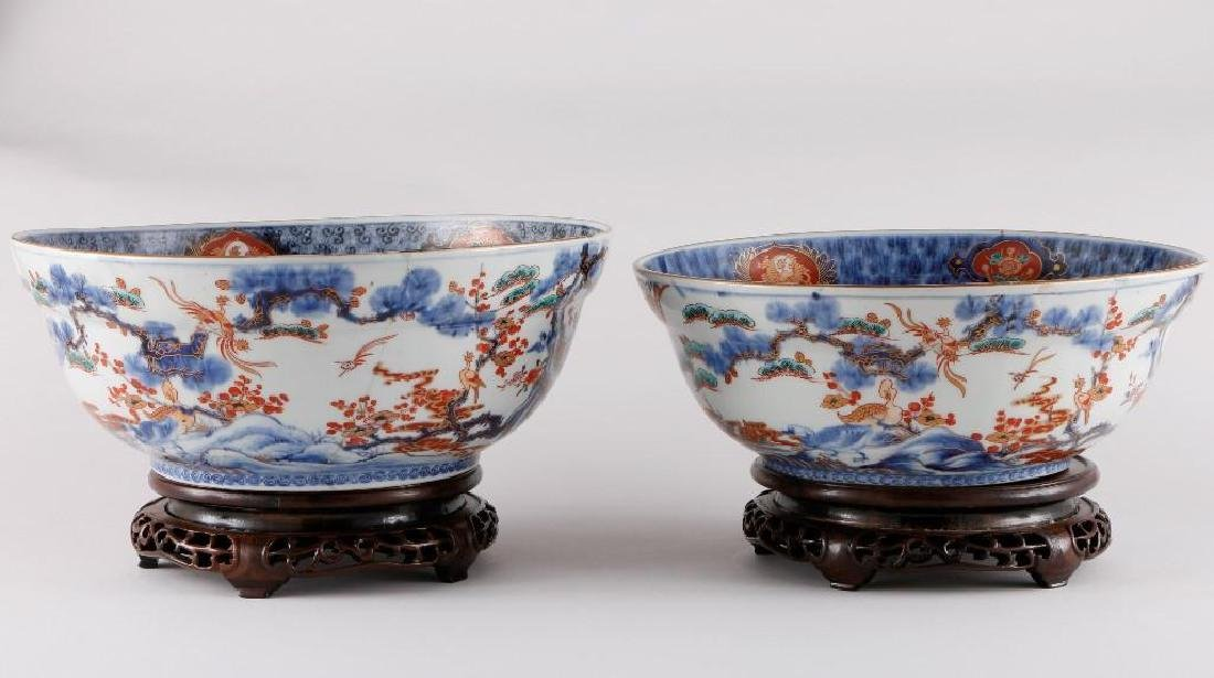 TWO JAPANESE IMARI BOWLS - 3