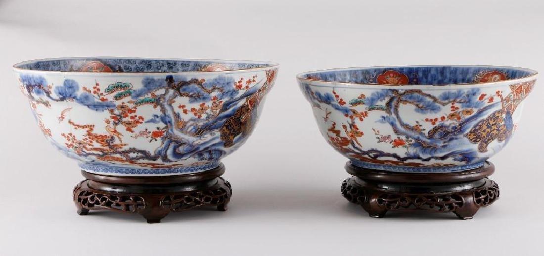 TWO JAPANESE IMARI BOWLS - 4