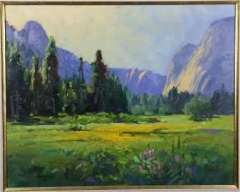 Martin Weekly (born 1936) Painting