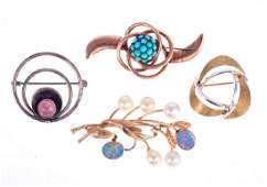Collection of gemset jewelry