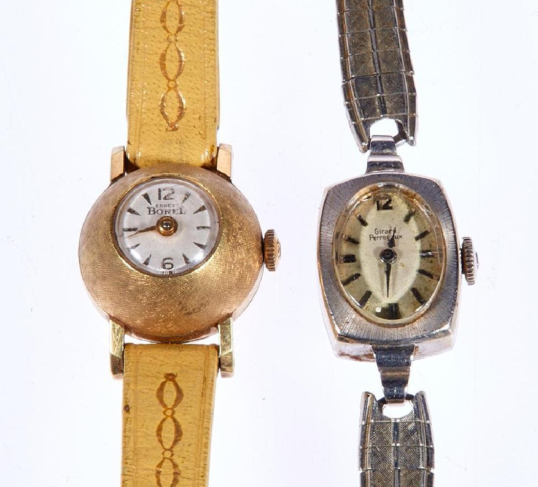 Ernest Borel gold plated ladies domed wristwatch