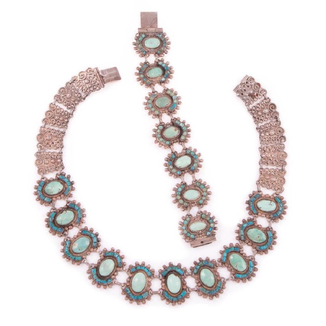 Matilde Poulat (MATL) Mexican necklace & bracelet set