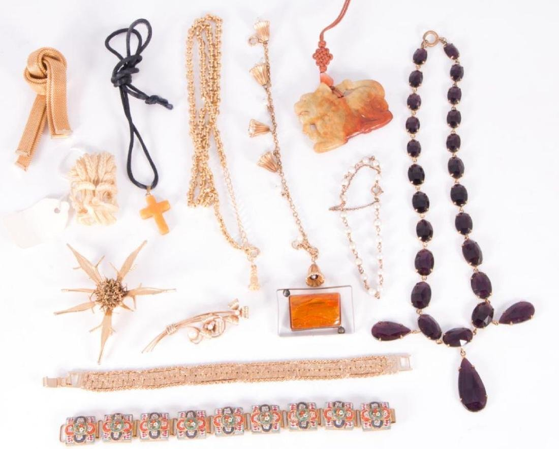 Collection of 60+ pieces of costume jewelry