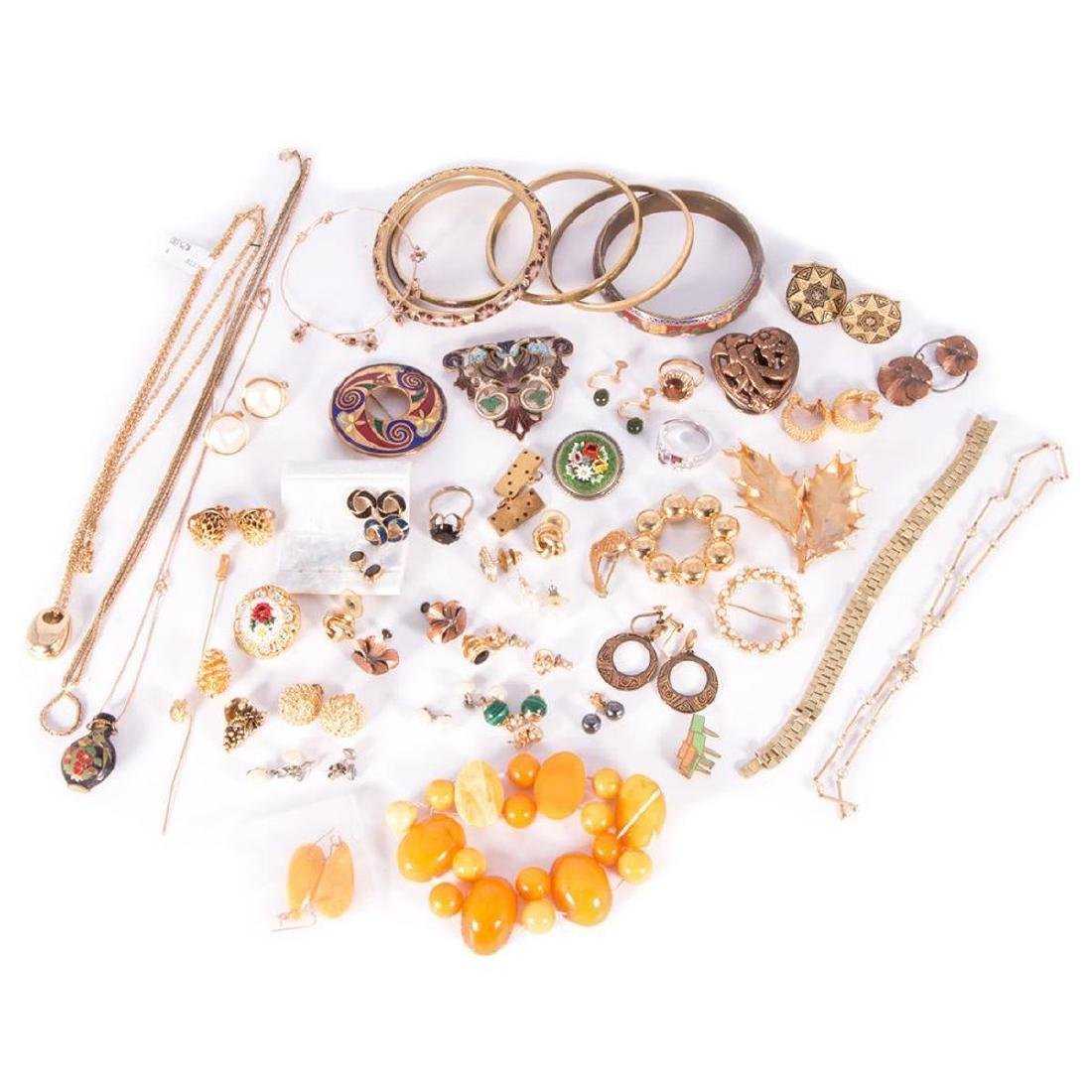 Collection of 60+ pieces of costume jewelry - 2