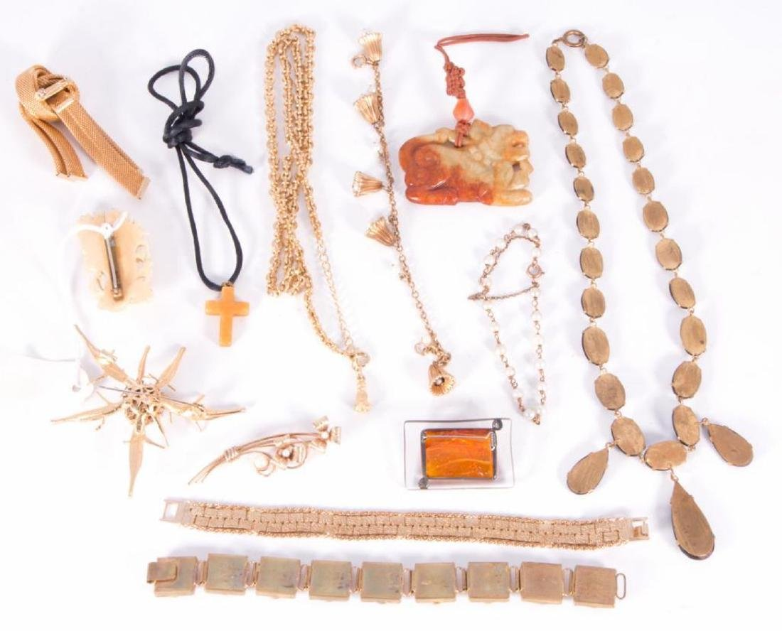 Collection of 60+ pieces of costume jewelry - 3