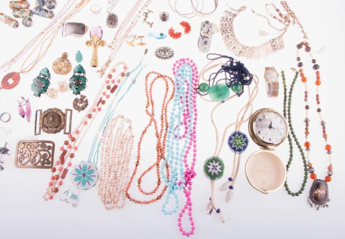 Collection of costume jewelry and assorted items - 2