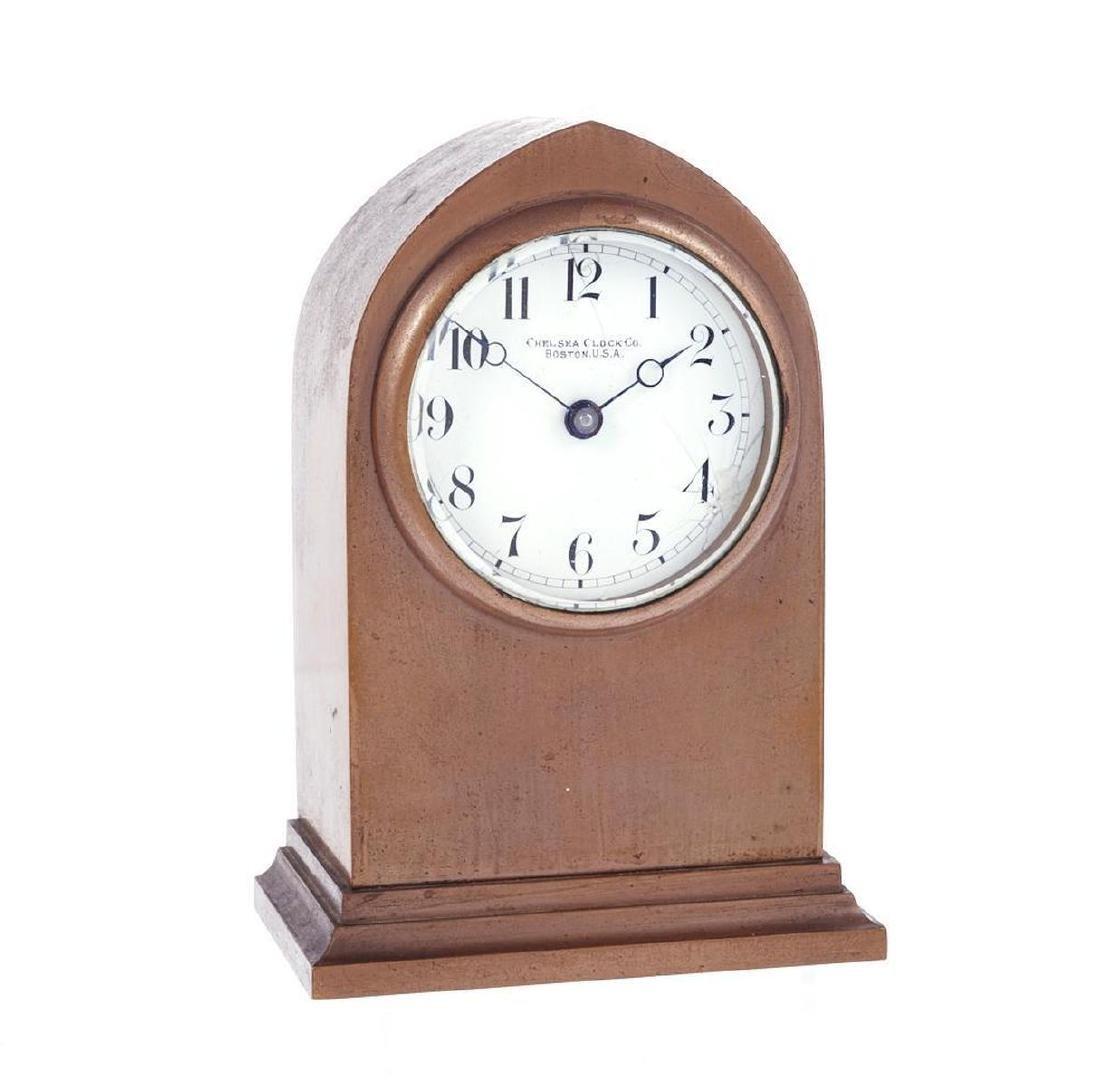 Chelsea Brass Case Mantel Clock