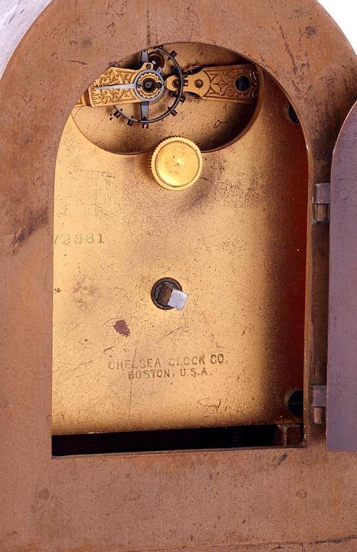 Chelsea Brass Case Mantel Clock - 2