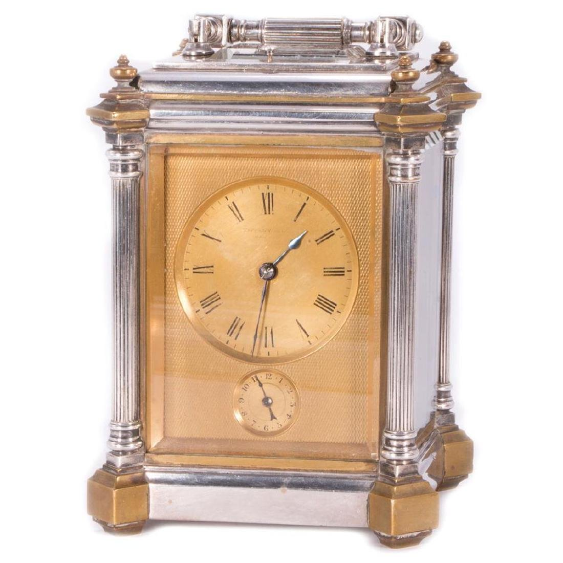 Antique Tiffany & Co Carriage Clock with it's original