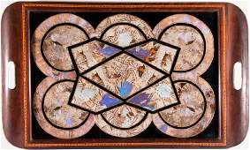A butterfly wing tray.