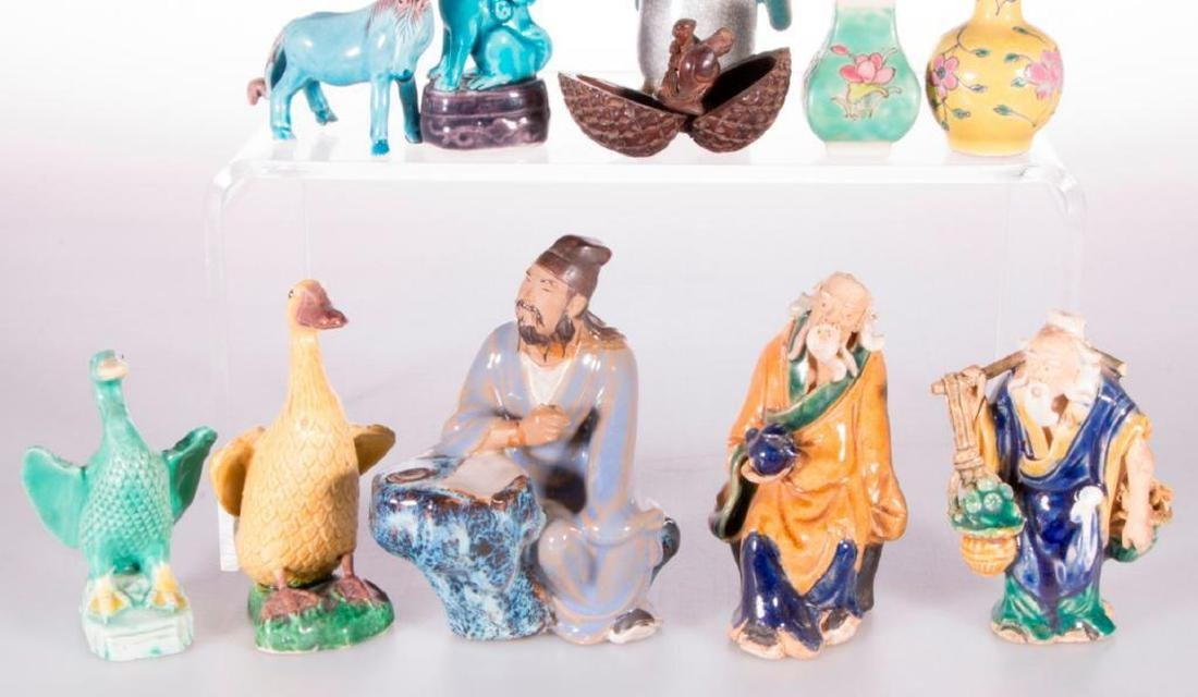 Eleven late 19th/early 20th c. Chinese/Japanese figures - 3