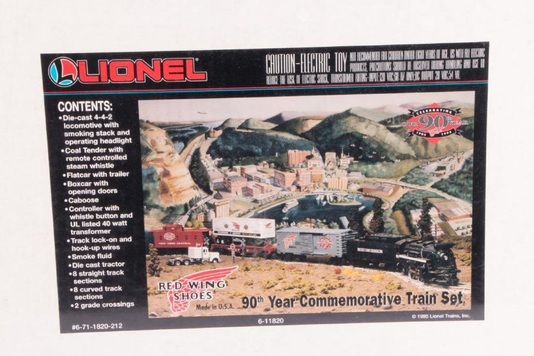 Lionel O Gauge 6-11820 Red Wings Shoes Promo - 2