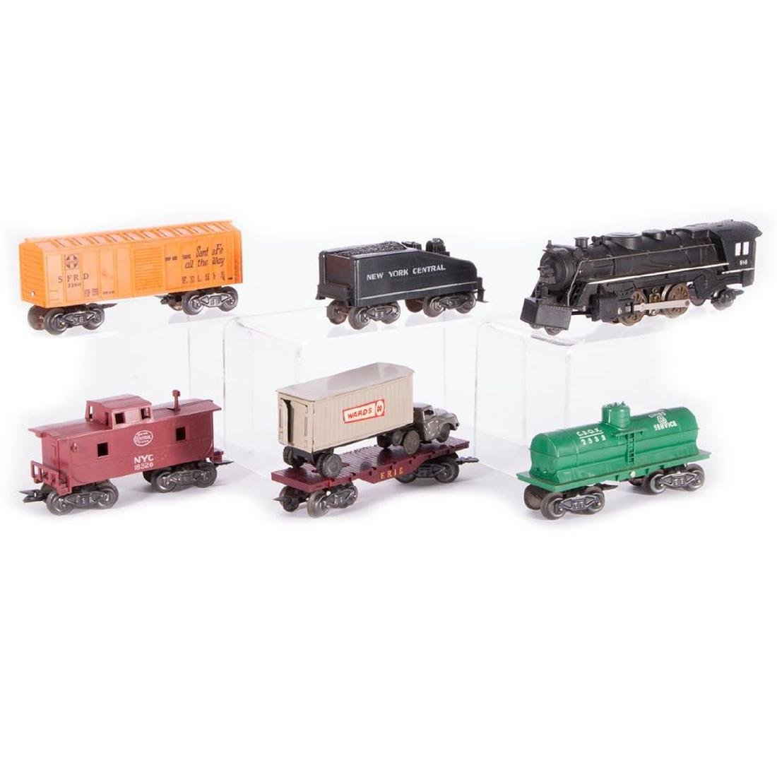 Marx O Gauge Smoking Steam Engine w/Freight Boxed Set