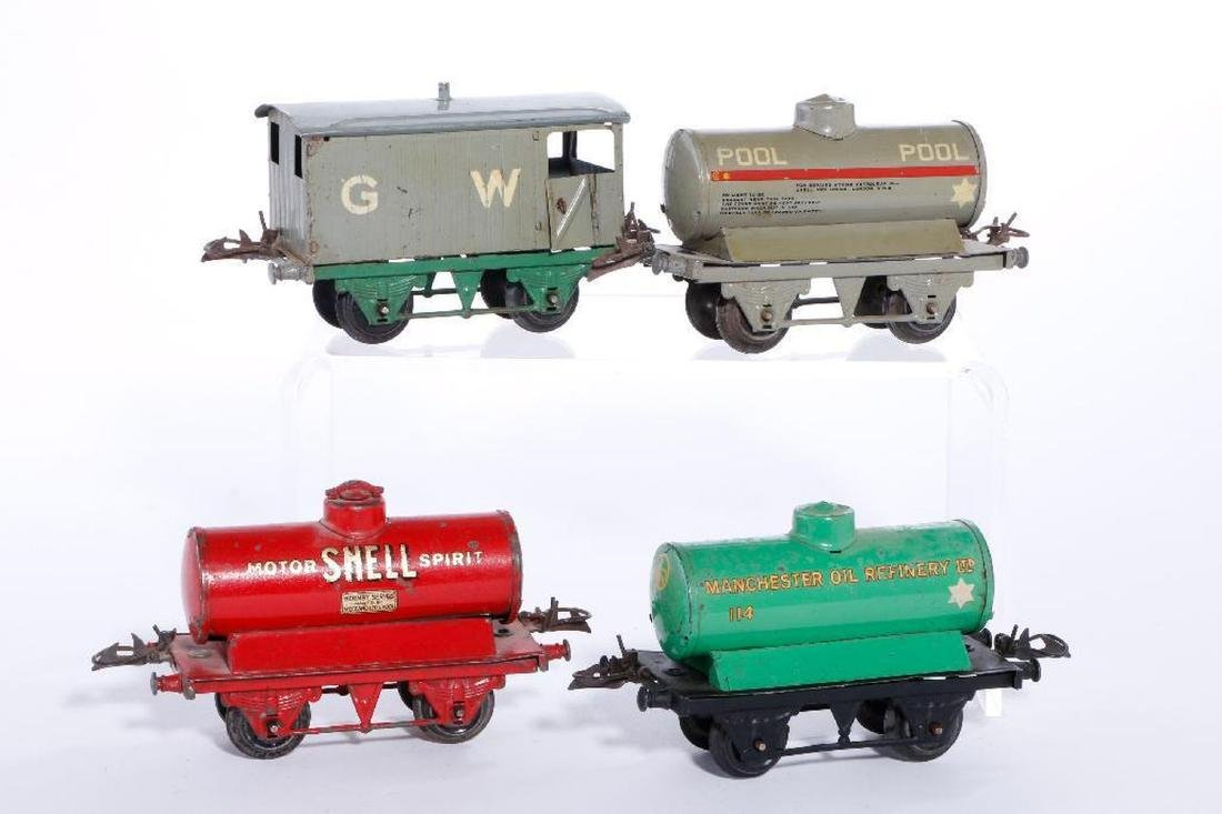 Group of Hornby freight cars - 2