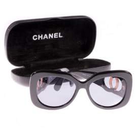 Pair of Chanel Sunglasses with case