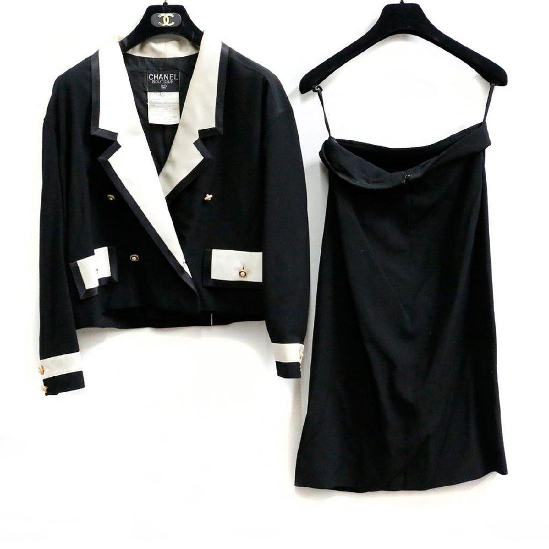 Chanel Vintage Ladies Wool & Silk Suit