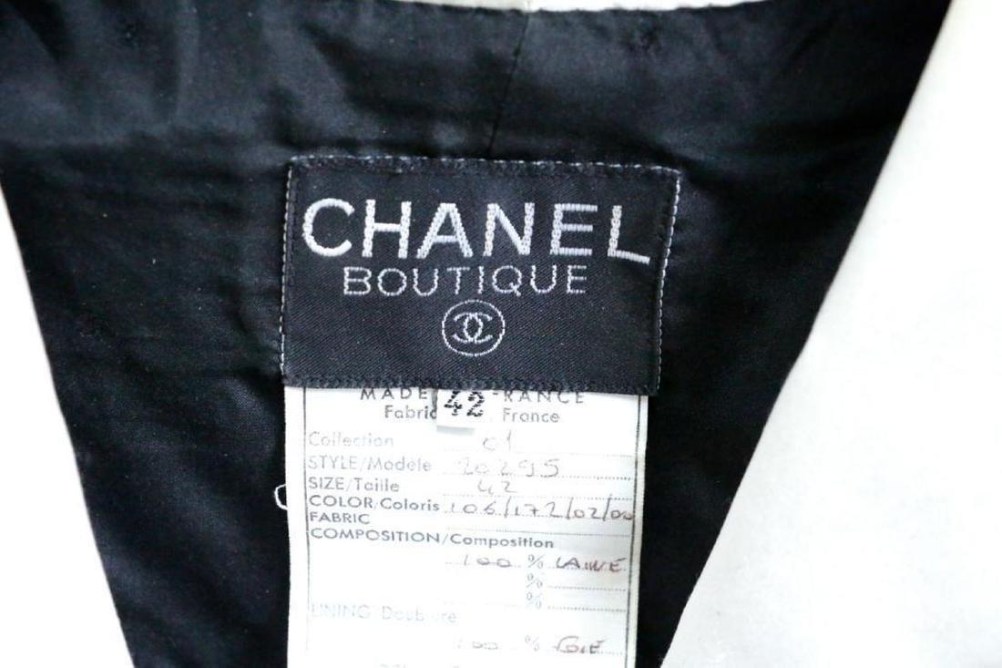 Chanel Vintage Ladies Wool & Silk Suit - 4