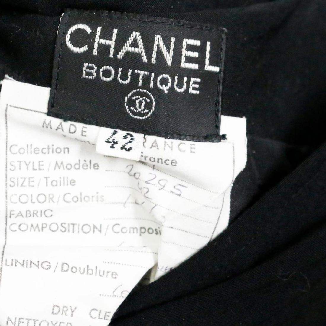 Chanel Vintage Ladies Wool & Silk Suit - 5