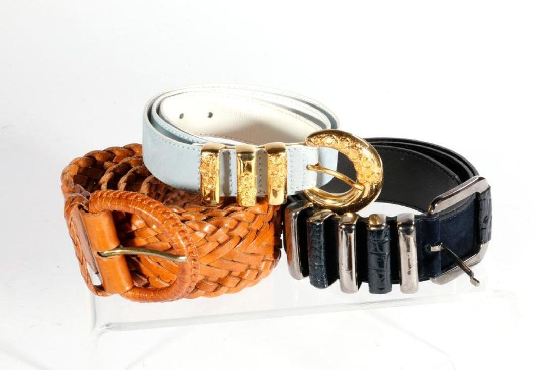 Collection of 11 Designer Belts - 3