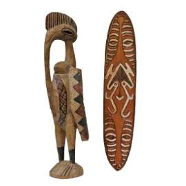 Two Tribal Carvings