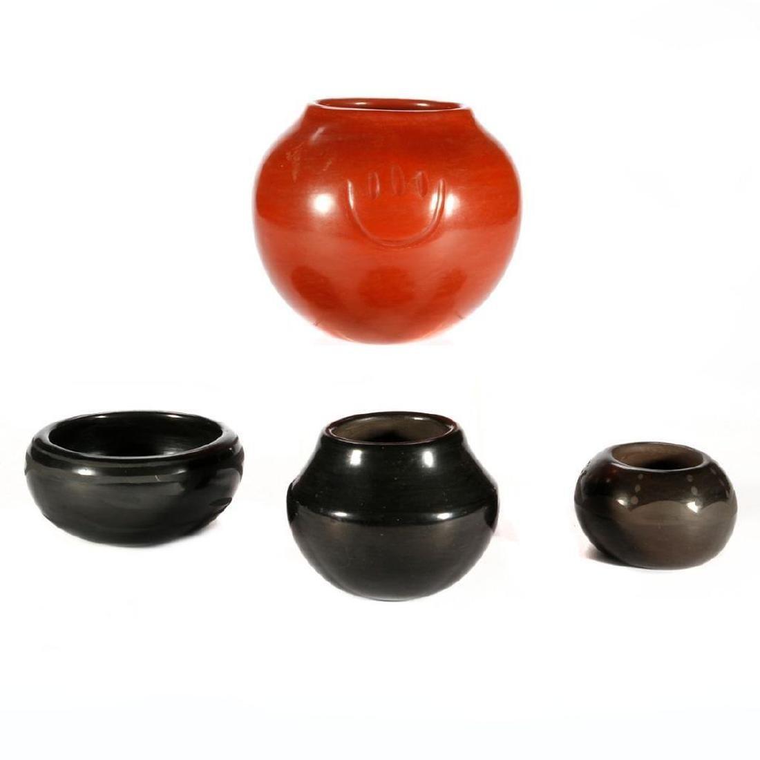 Four Pueblo Vessels