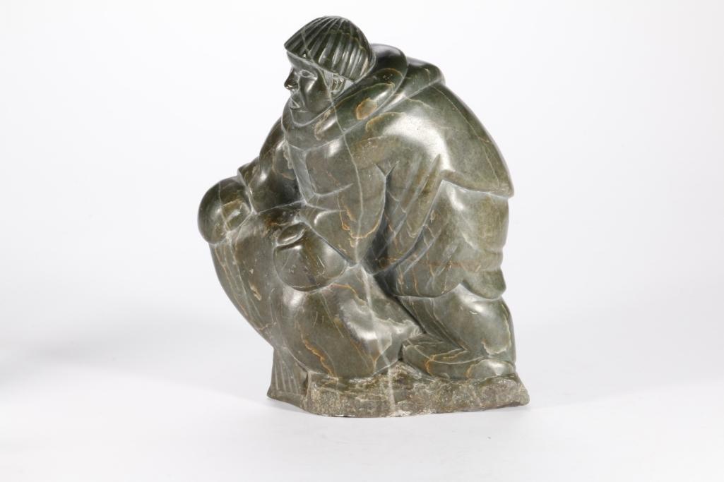 An Inuit Stone Sculpture