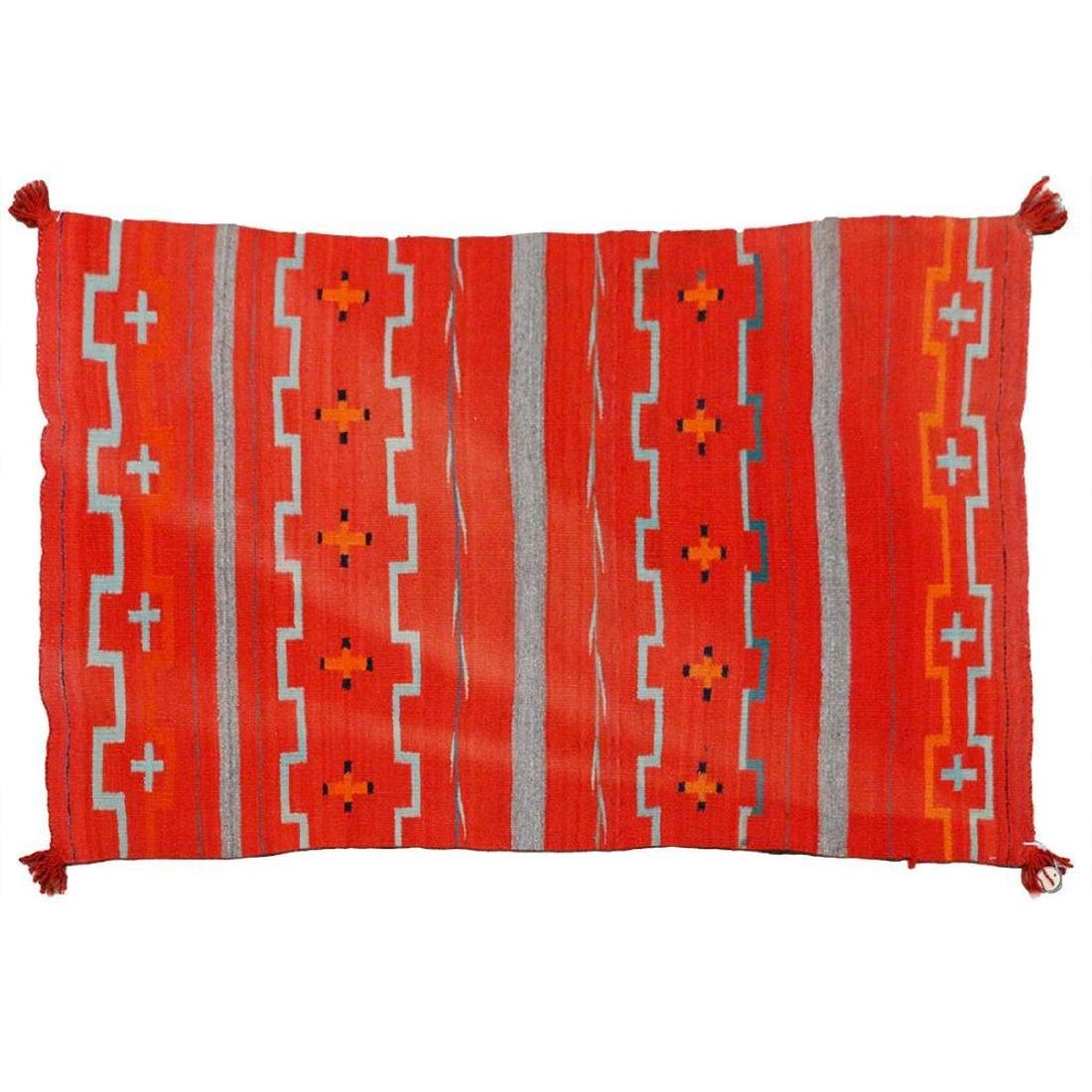 A Navajo Transitional Child's Blanket