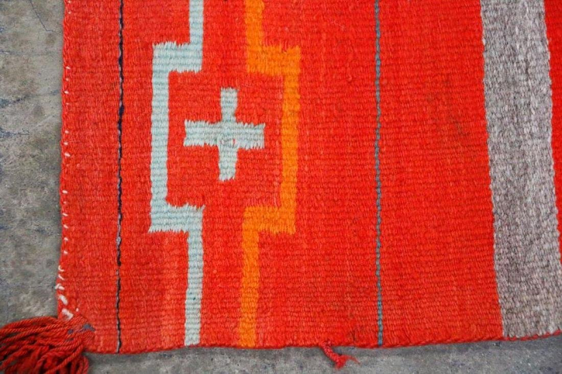 A Navajo Transitional Child's Blanket - 3