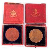 Two important British medals.
