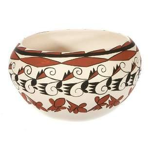 Tesuque large matte bowl