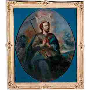 An 18th century Portrait of Saint Judas