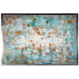 20th century abstract on panel