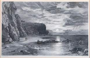 Two 19th century etchings