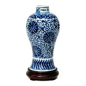 19th century Chinese vase.