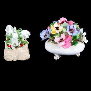 Royal Doulton and Royal Adderley bouquets